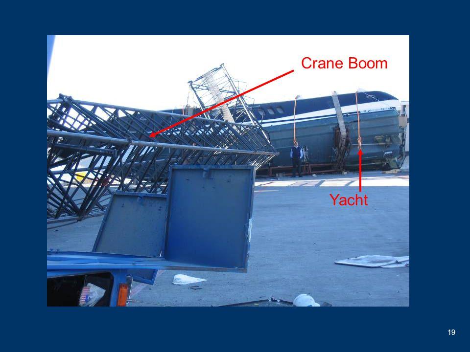 19 Crane Boom Yacht