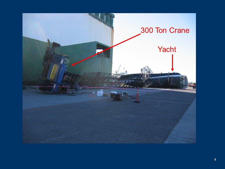 4 300 Ton Crane Yacht