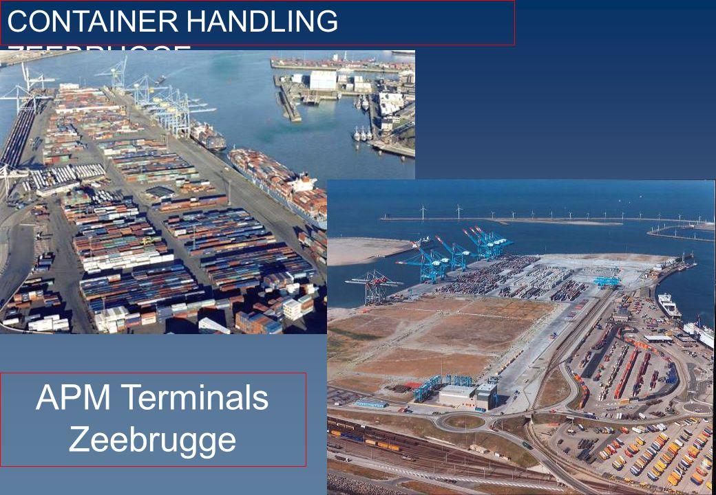 CONTAINER HANDLING ZEEBRUGGE APM Terminals Zeebrugge