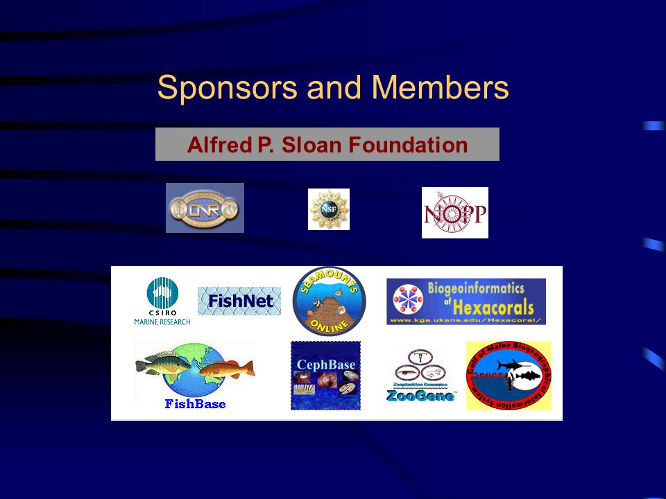 Sponsors and Members Alfred P. Sloan Foundation