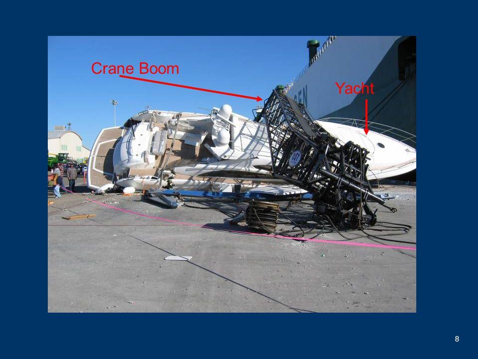 8 Crane Boom Yacht