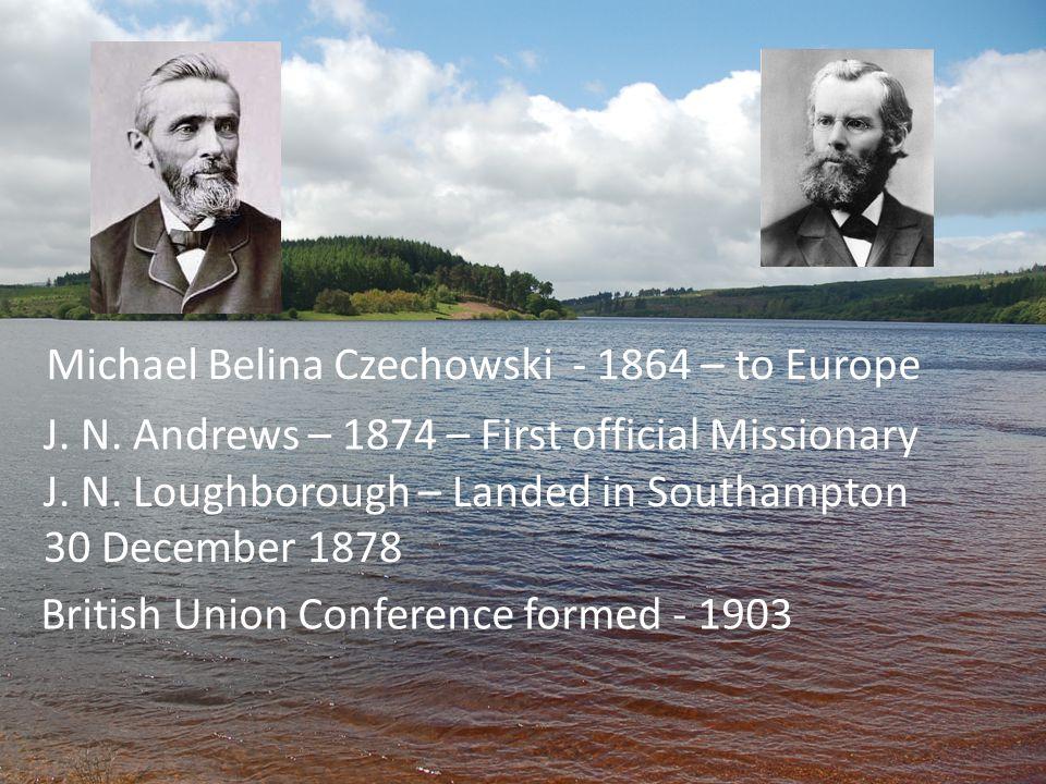 Michael Belina Czechowski - 1864 – to Europe J. N.