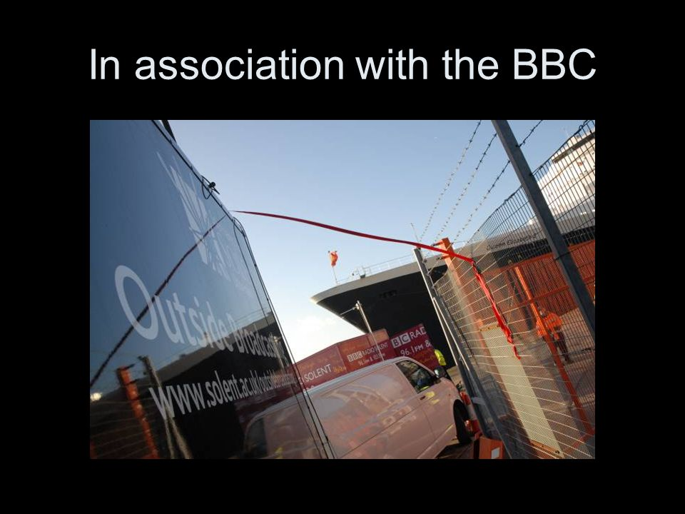 In association with the BBC