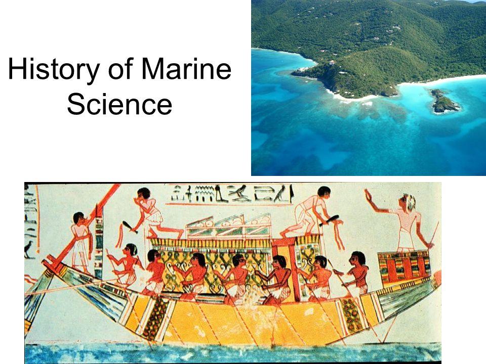 History of Marine Science