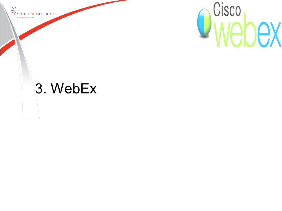 3. WebEx