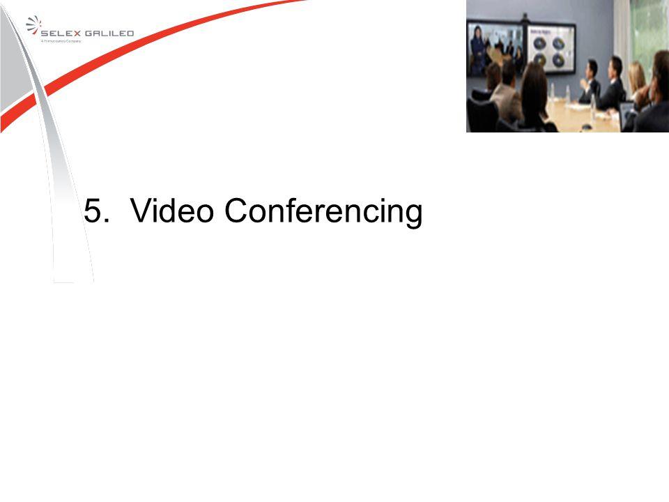 5. Video Conferencing