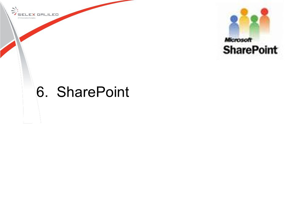 6. SharePoint