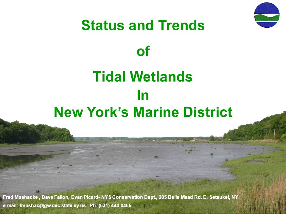 Fred Mushacke, Dave Fallon, Evan Picard- NYS Conservation Dept., 205 Belle Mead Rd.