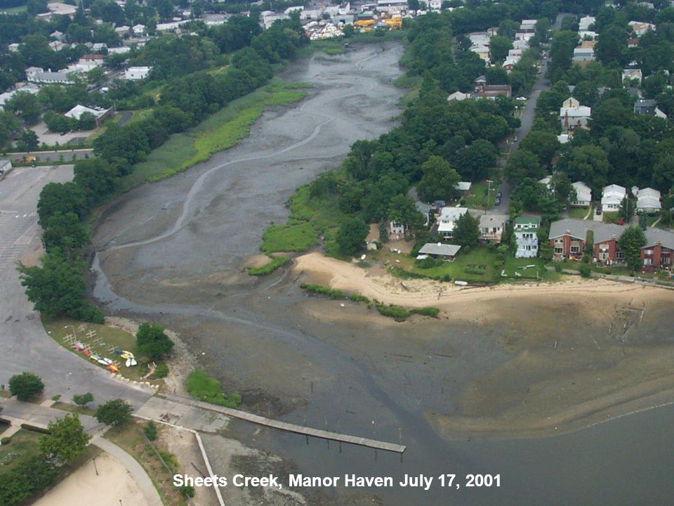Sheets Creek, Manor Haven July 17, 2001
