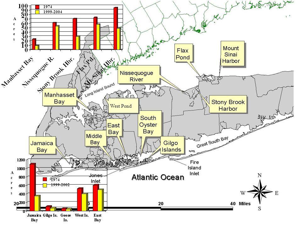 West Pond AcresAcres AcresAcres 1974 1999-2004 1974 1999-2002
