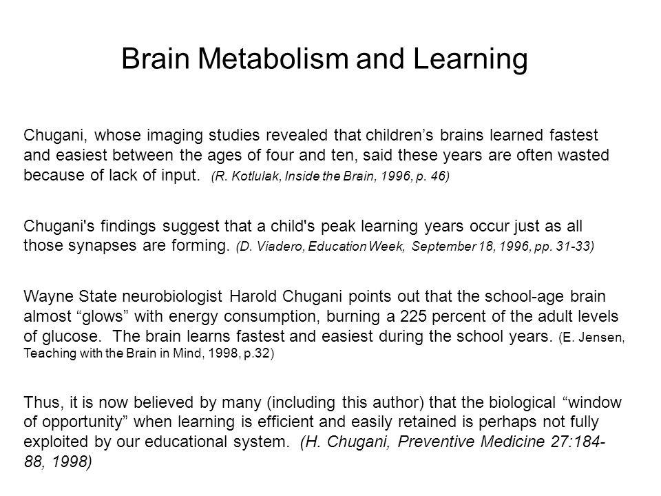 Metabolic Brain Images