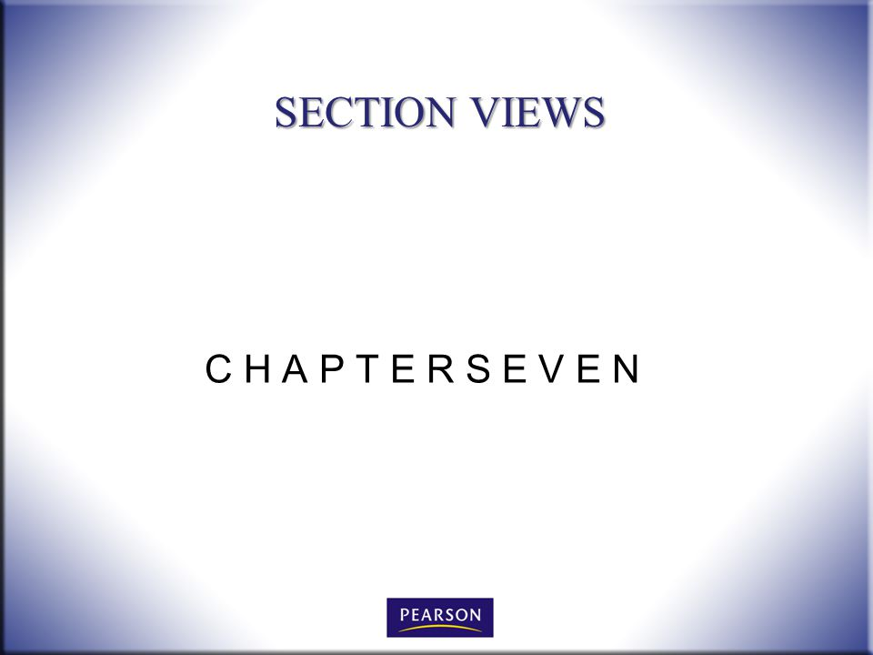 C H A P T E R S E V E N SECTION VIEWS