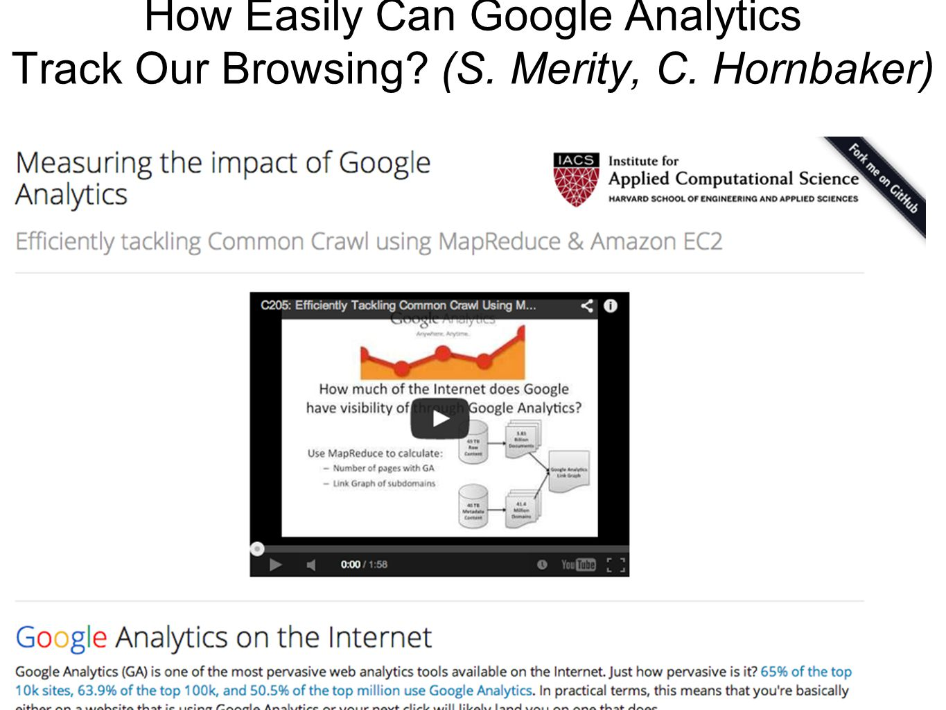 How Easily Can Google Analytics Track Our Browsing.