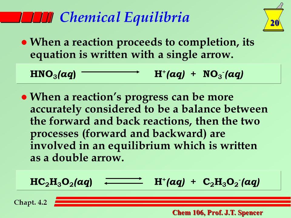 20 Chem 106, Prof. J.T.