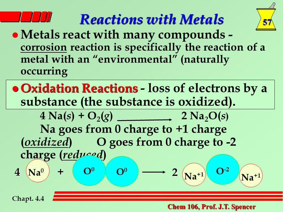 57 Chem 106, Prof. J.T.