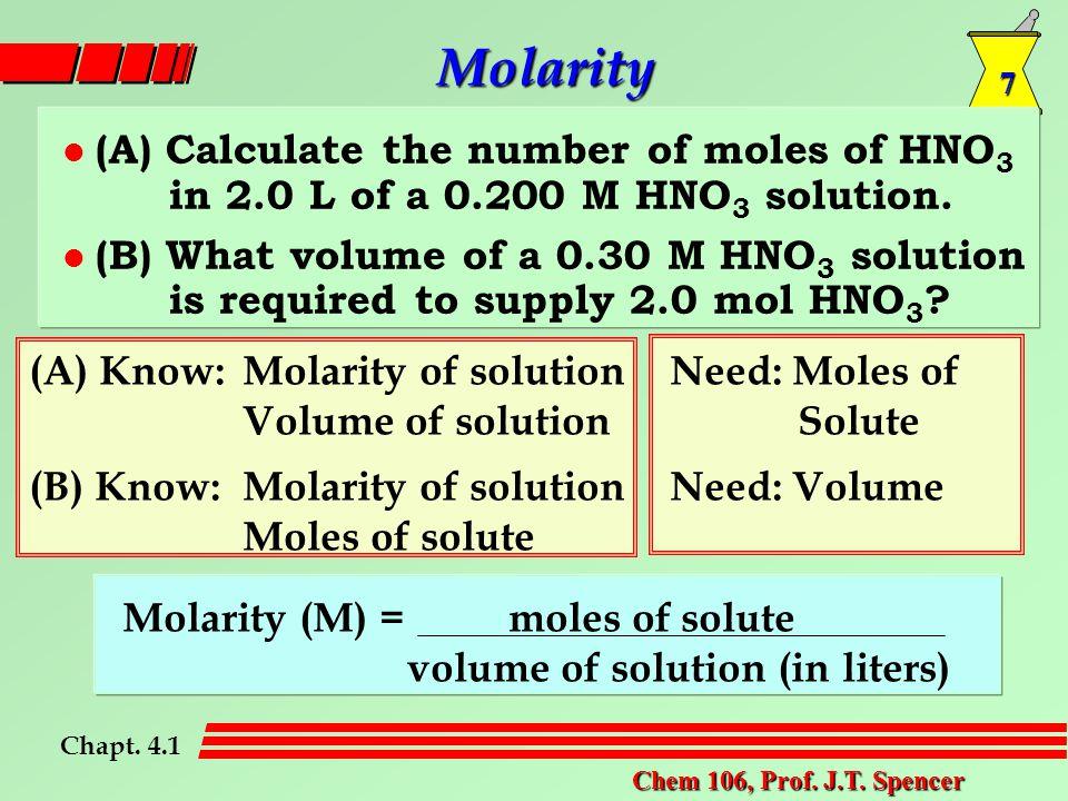 7 Chem 106, Prof. J.T.