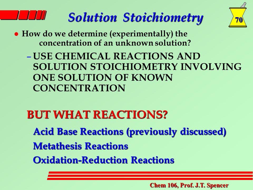 70 Chem 106, Prof. J.T.