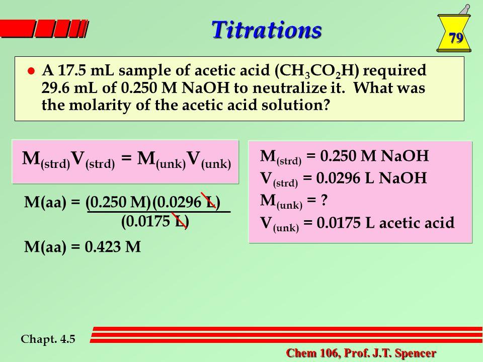79 Chem 106, Prof. J.T.