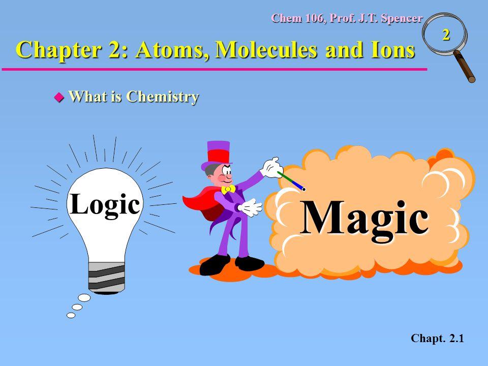 Chem 106, Prof.J.T. Spencer 33 u J. J.