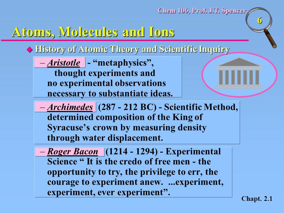 Chem 106, Prof.J.T. Spencer 77 Periodic Table Group or Family Row 1Alkali metalsLi, Na, K,...
