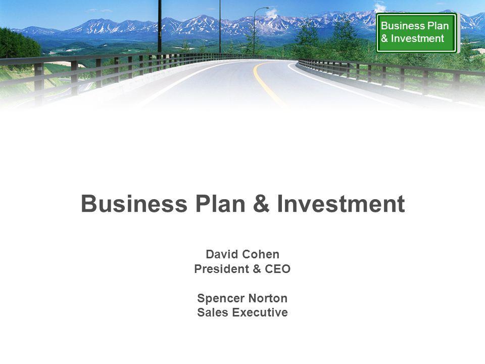 Business Plan & Investment www.firestonefinancial.com 1-800-851-1001 ext.