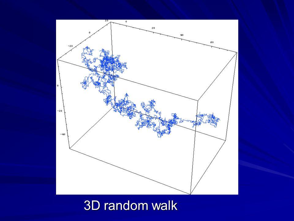 3D random walk