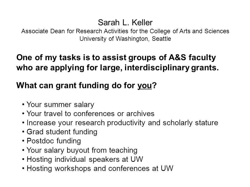 What can grant funding do for you.