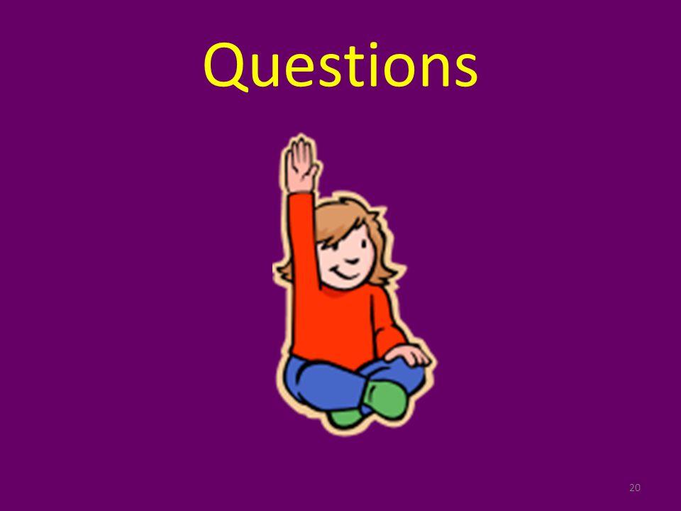 Questions 20