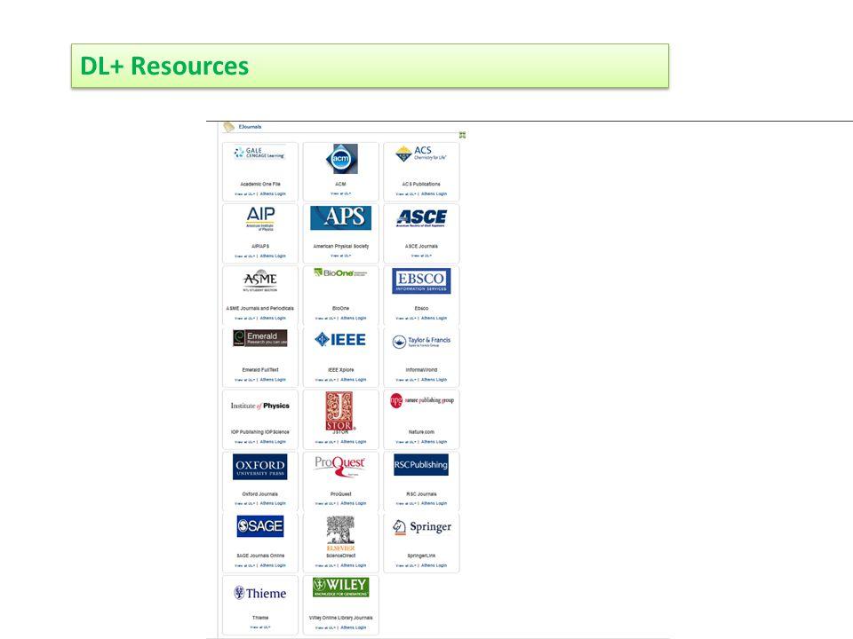DL+ Resources