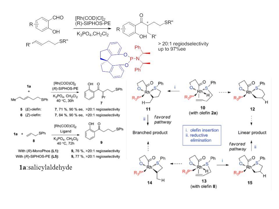 1a:salicylaldehyde