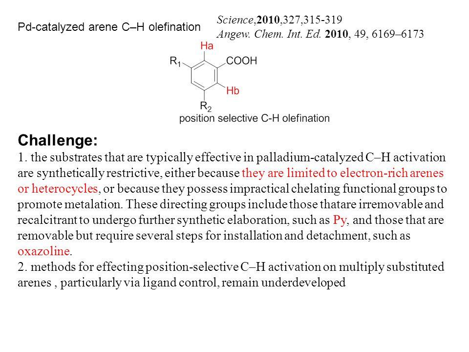 Science,2010,327,315-319 Angew. Chem. Int. Ed.
