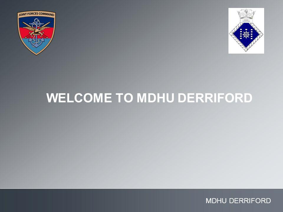 MDHU DERRIFORD WELCOME TO MDHU DERRIFORD