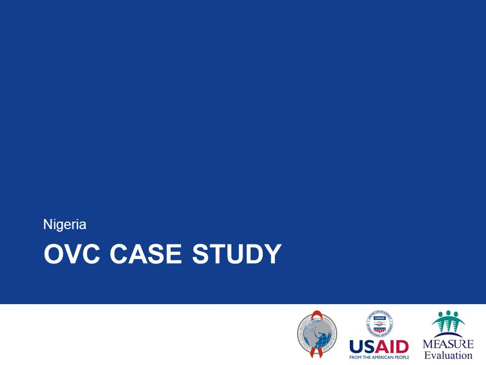 OVC CASE STUDY Nigeria
