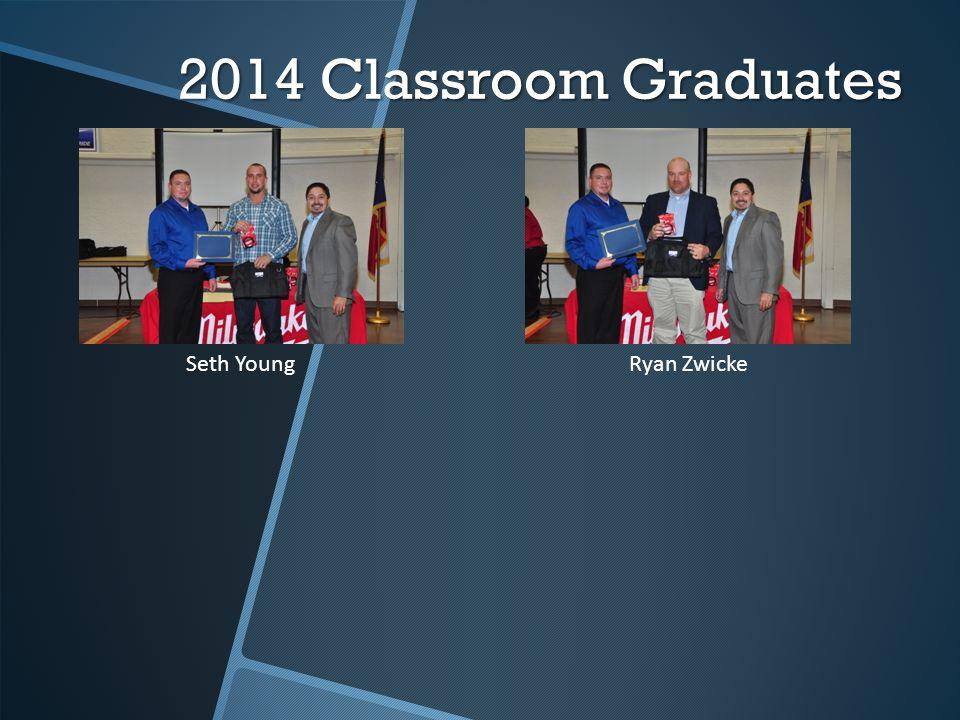 2014 Classroom Graduates Seth YoungRyan Zwicke