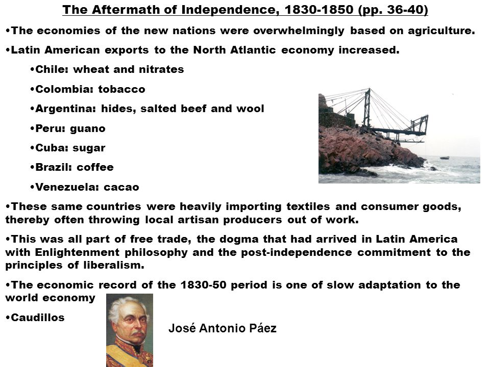 The Aftermath of Independence, 1830-1850 (pp.