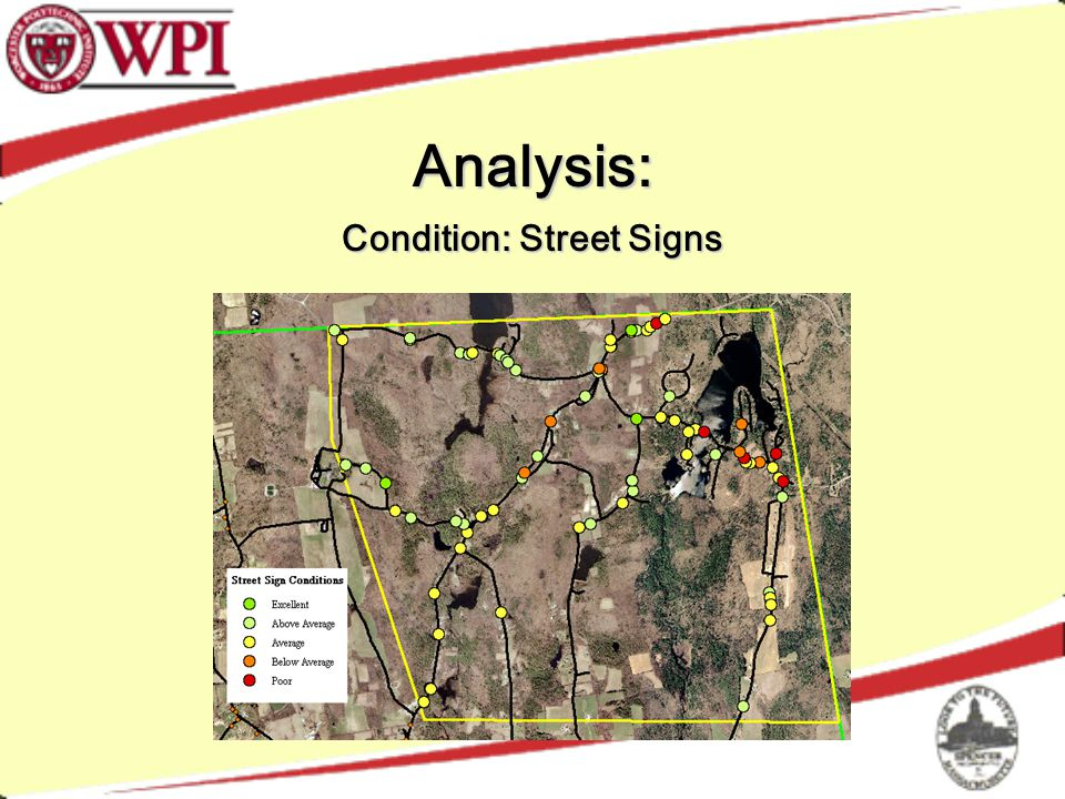 Analysis: Condition: Street Signs