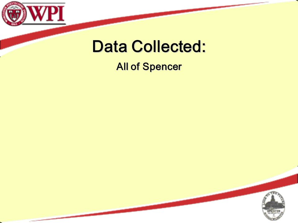 Data Collected: All of Spencer