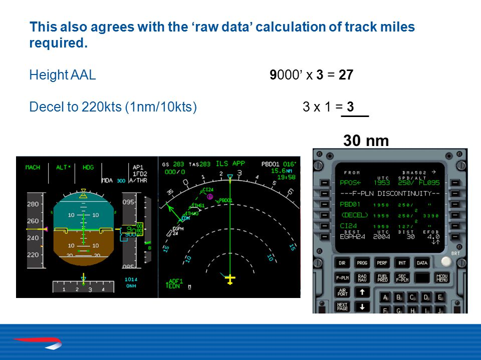 This also agrees with the 'raw data' calculation of track miles required.
