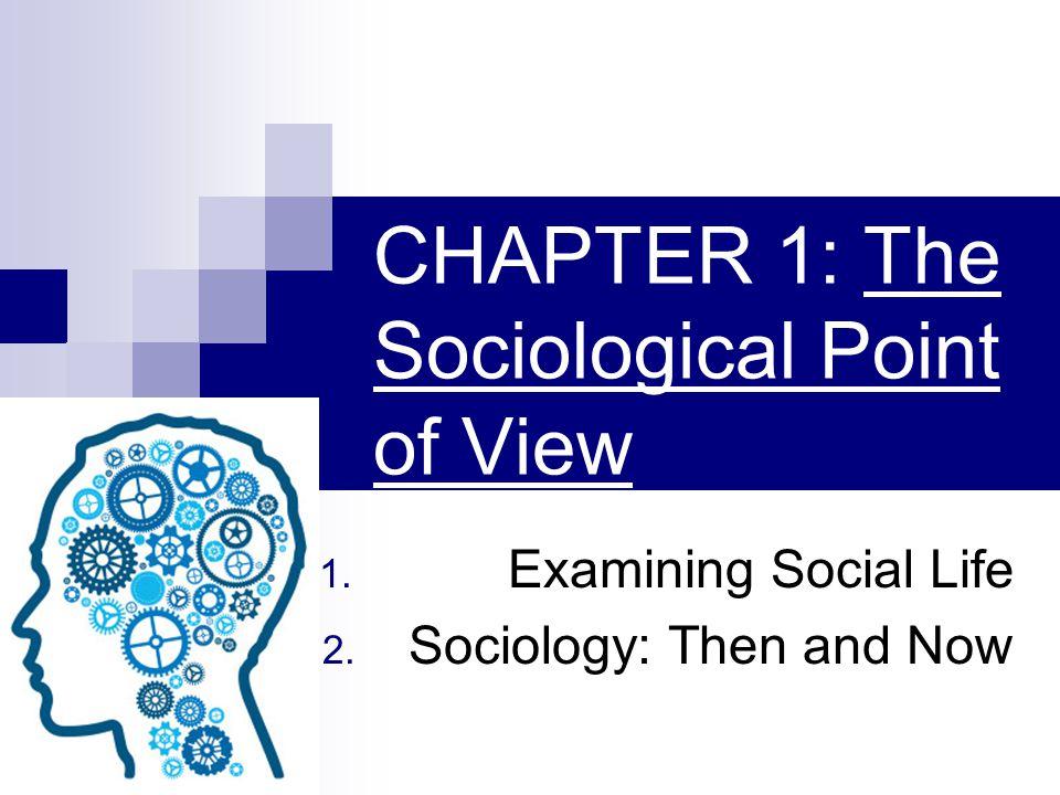 EXAMINING SOCIAL LIFE Sociology- Science that studies human society and social behavior.