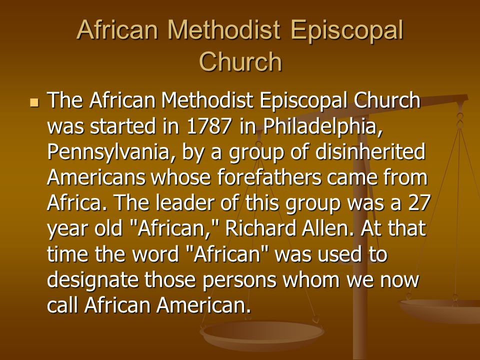 African Methodist Episcopal Zion Church 1820 Rev.