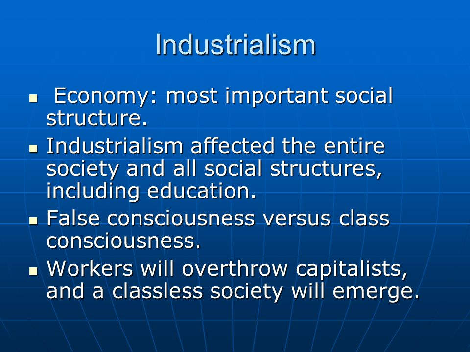 The Marxist Synthesis Social-conflict theory: The group in power struggles to maintain the status quo while the oppressed struggle to change it.