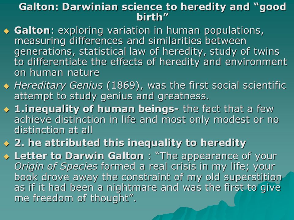 Malthusian Theories of Population: Darwin and Galton's Reactions  In 1798, Thomas Robert Malthus (1766-1834) an English economist, influential in political economy and demography, published the Essay on the Principle of Population.