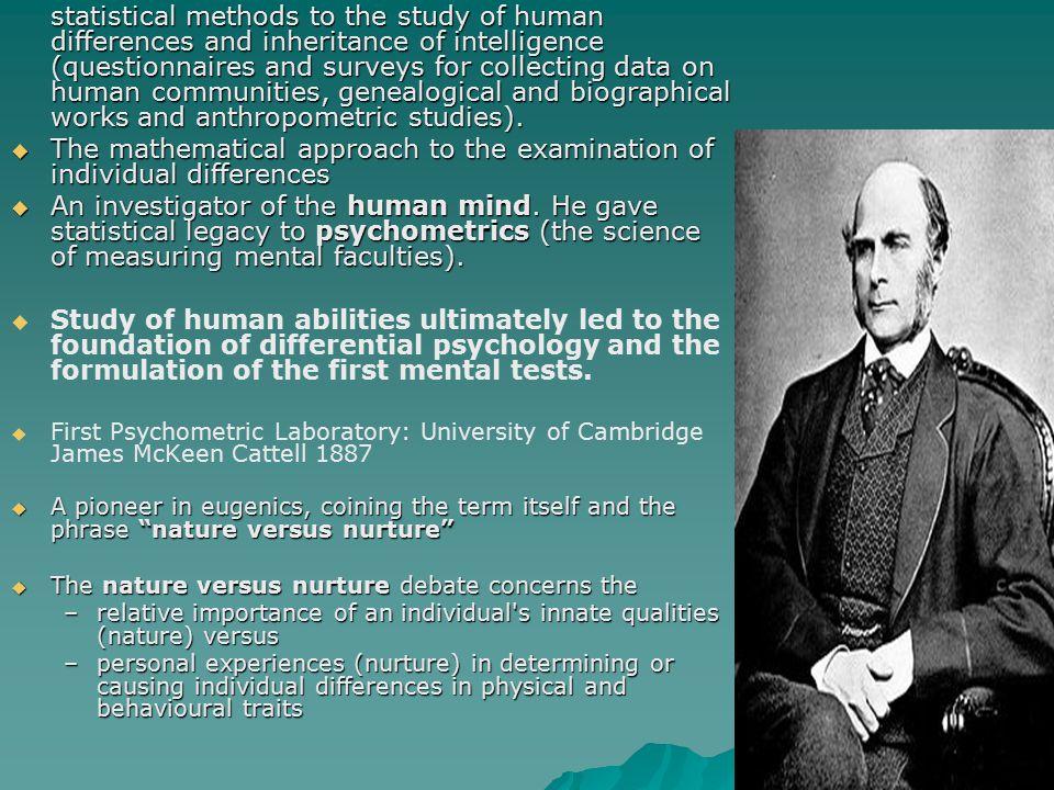 Leonard Darwin (1850-1943)  Son of Charles Darwin, Chairman of the British Eugenics Society (1911-1928)  He took leadership positions in international eugenics events.