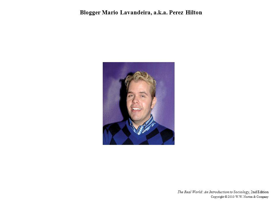 Blogger Mario Lavandeira, a.k.a.
