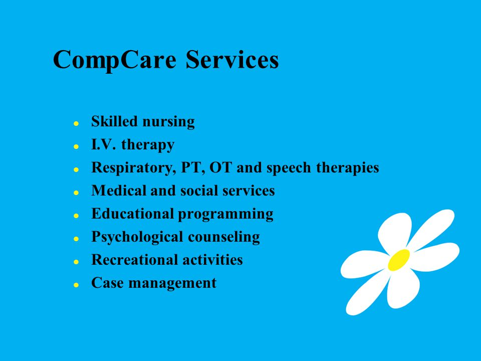 CompCare Services Skilled nursing I.V.