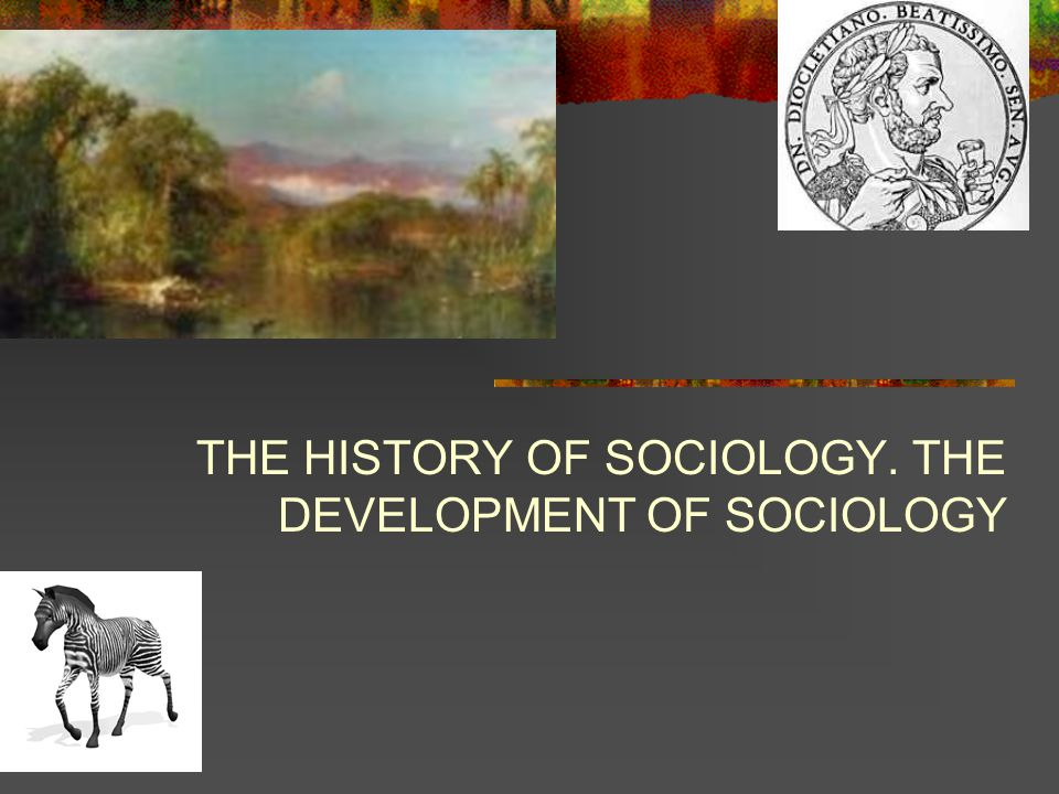 Sociological reasoning predates the foundation of the discipline.