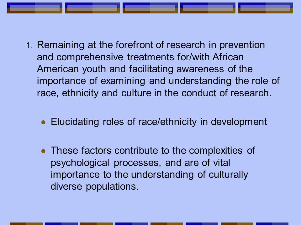 Elements of Cultural Competence cont'd 4.