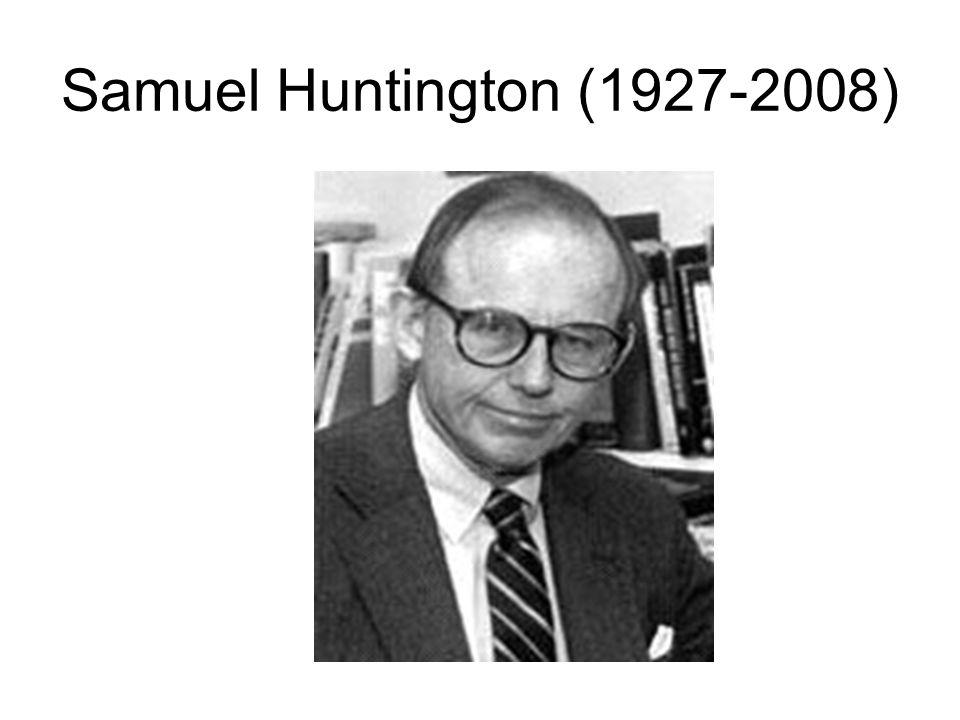 Samuel Huntington (1927-2008)
