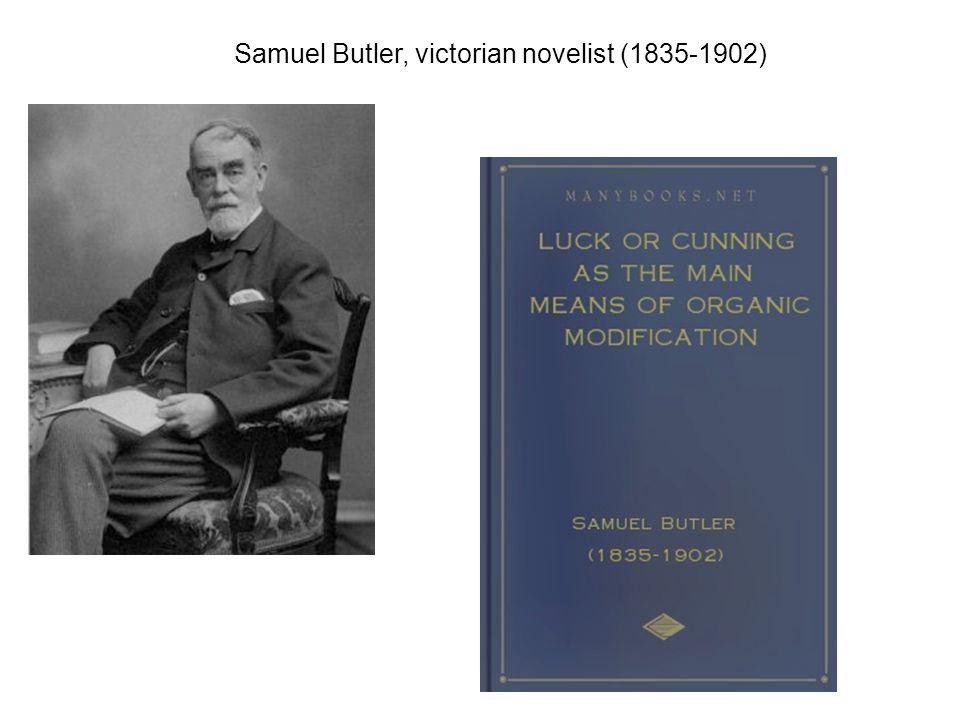 Samuel Butler, victorian novelist (1835-1902)