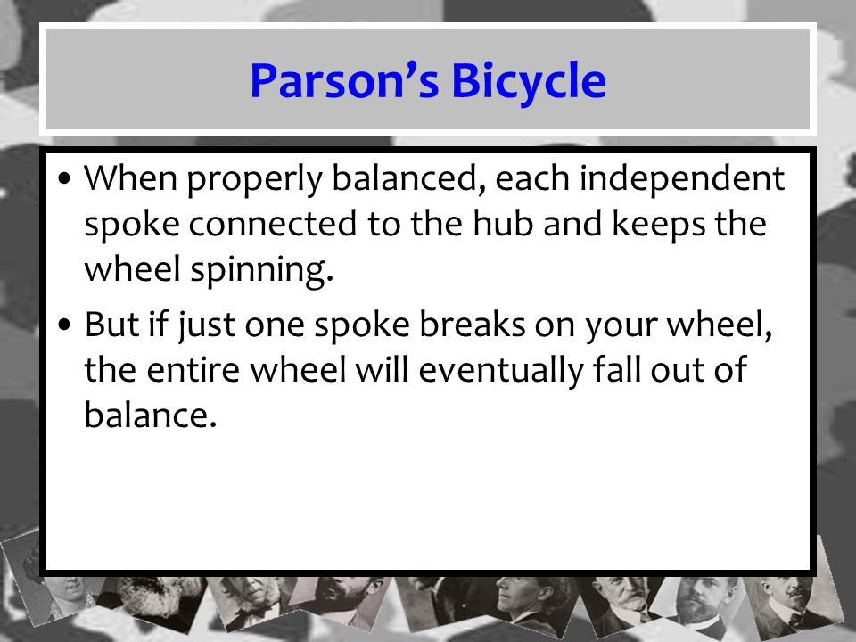Parson's Inertia Parsons also commented on the inertia of social systems, meaning that they tend to remain at rest, if they are at rest, or stay in motion, if already in motion.